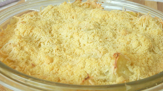 Cauliflower Potato Gratin recipe