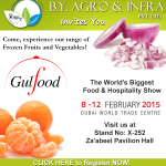 B.Y. Agro & Infra at Gulfood 2015 – A Curtain Raiser